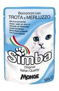 SIMBA - Pouches with trout and cod