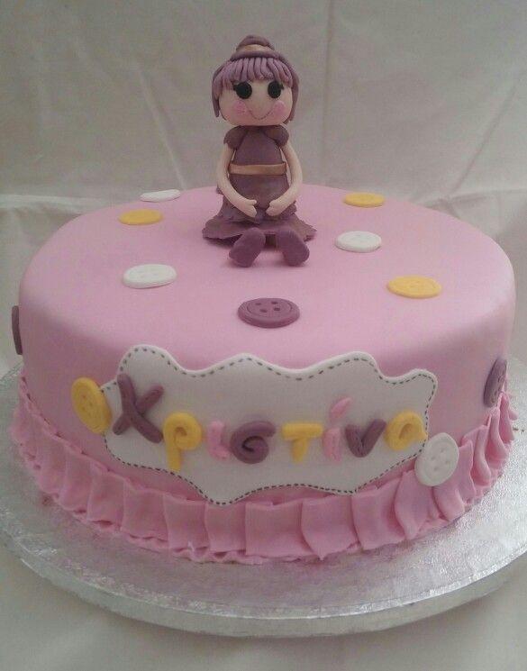Lalaloopsy cake by Konstantina Chalkia