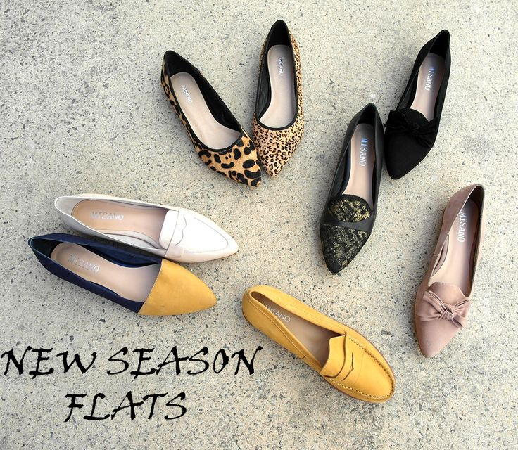 Flats. Leather flats by Misano. Winter 2015