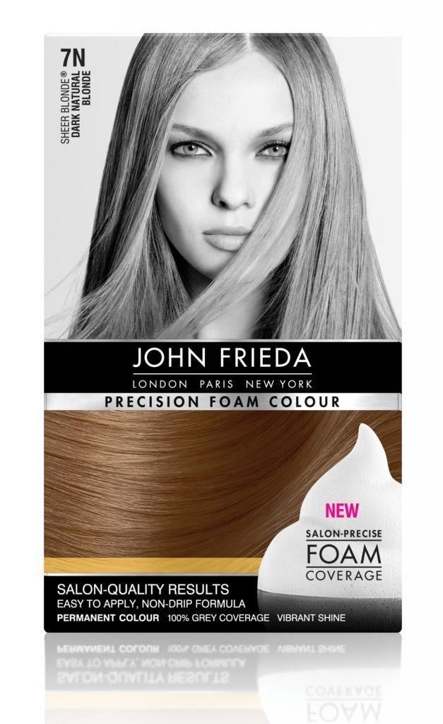 John Frieda Precision Foam Colour Sheer Blonde Dark Natural Blonde