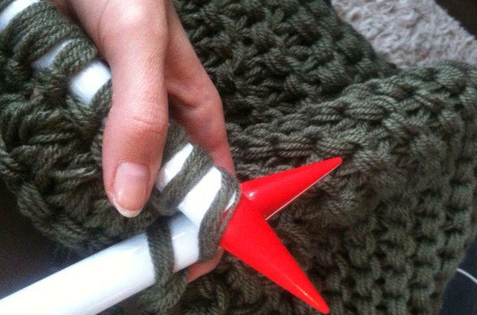 38 steken naald 30 7 draden tegelijk. Proberen met goedkope zeemanwol? 7 bollen zouden genoeg zijn...
