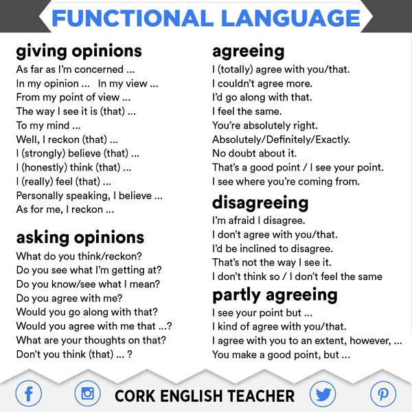 Functional language tips #learnenglish