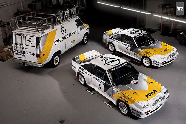 Opel Manta - Werksauto RA38 - Opel Euro Team - Historic Rally Sport - Slowly Sideways