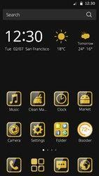 CM Launcher Luxury Gold Theme