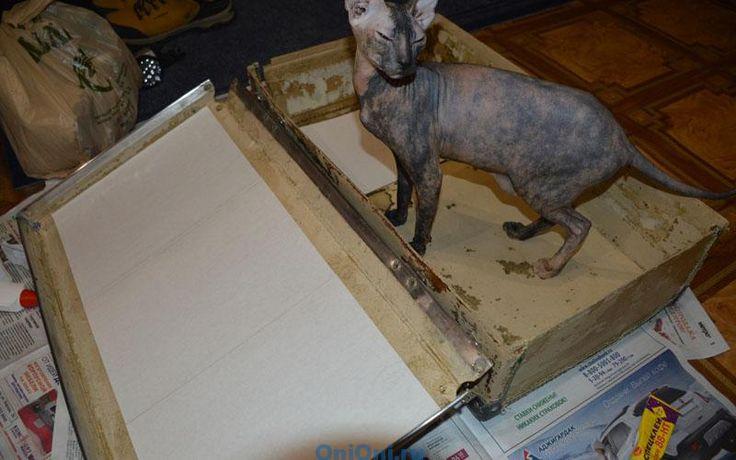 реставрация старых чемоданов своими руками фото