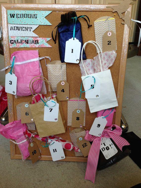 Advent Calendar Ideas Wedding : Wedding advent calendar love marriage pinterest