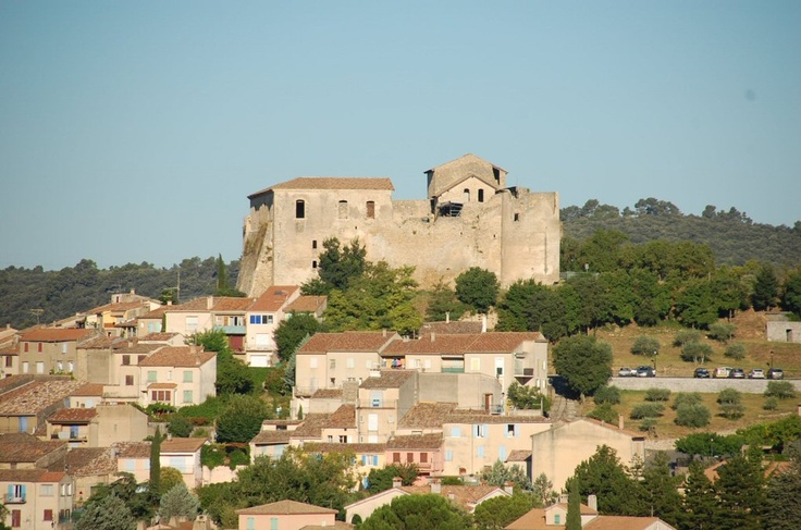 Chateau des Templiers Gréoux-les-Bains Haute Provence. Said to be a Templar stronghold & that strange rituals are still seen in shadow form on the interior walls.