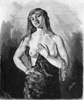 Brynhild var en sköldmö i nordisk mytologi.  Hon är dotter till sagokungen Budle.   Ifrån den tyska medeltidslitteraturens mycket kända verk, Nibelungenlied, är hon främst känd som drottning Brünhilde, Kriemhilds svägerska.  I en episod berättas det att hon trotsade Oden genom att välja fel vinnare efter ett slag, varpå Oden lät stänga in henne i ett rum av eld.  Sigurd och Gunnar Gjukesson hade förälskat sig i henne och hon räddas så av Sigurd.  Svartsjuka får Brynhild att driva Gunnar och…