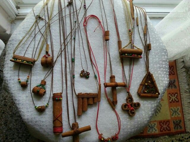 Cinnamon,  jewelry  , reggae   necklace   30$