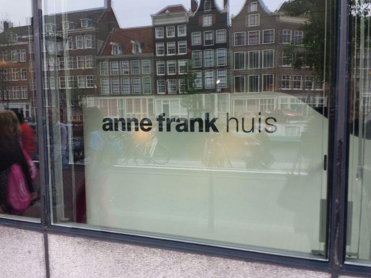 Anne Frank Huis i Amsterdam #museum #amsterdam #ammuseum