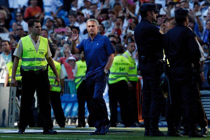 Jose Mourinho - Real Madrid CF v CA Osasuna - La Liga