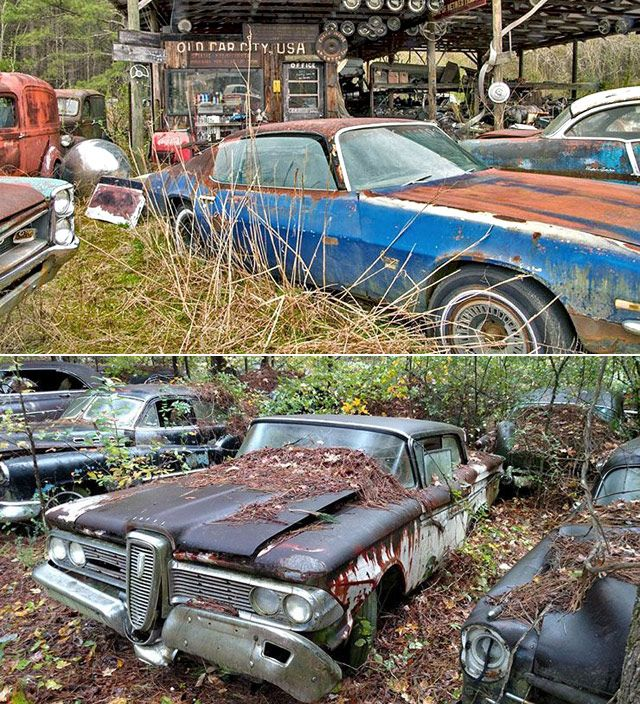 Old Car City Usa Is The World S Largest Junkyard Museum Cars And