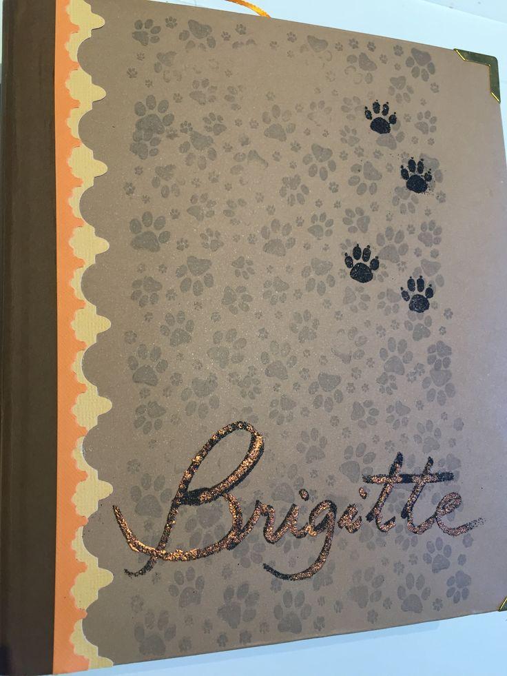 Álbum Scrapbook da Brigitte