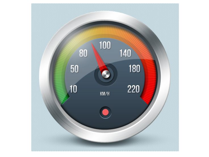 Tachometer icon - Czech Point System by Petr   Direct-services