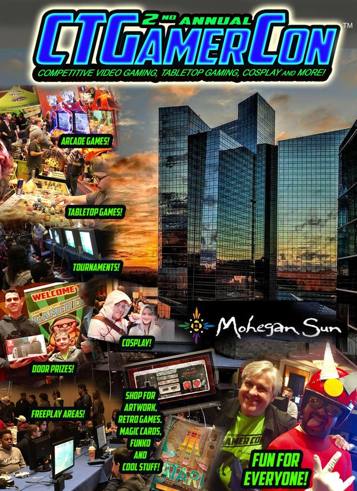 TERRIFICON - Connecticut's number 1 Comic Convention at Mohegan Sun CT's Terrific Comic Con August 17 - 19, 2018 for Comics, Cosplay and Gaming fans