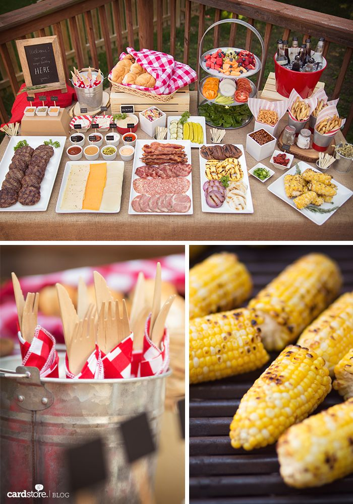 Ideen Sommerparty - Burger Bar