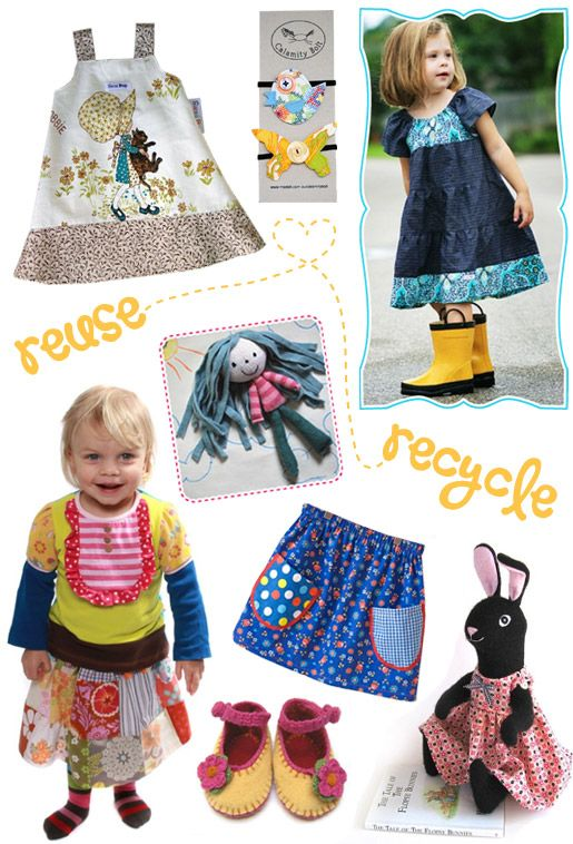 Repurposed, recycled and restyled toys and clothing for kids | KID independent – handmade for kids