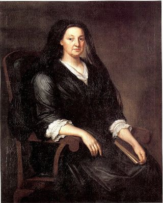 1730-40 Artist: John Smibert 1688-1751. Subject: Sarah Middlecott 1678-1764 (Mrs. Louis Boucher). Henry Francis duPont Winterthur Museum. Mr. Louis Boucher, who had been born in France, was lost at sea in 1715. They had been married in 1702, in Boston by Cotton Mather.