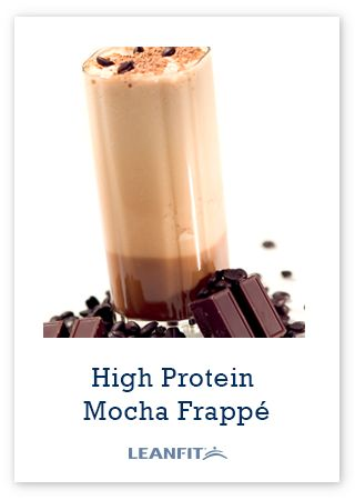 Celebrate International Coffee day with the high protein mocha frappé.  ------ The perfect morning pick-me-up
