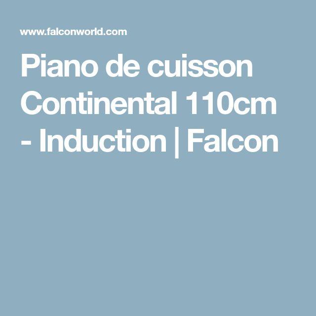 Piano de cuisson Continental 110cm - Induction   Falcon