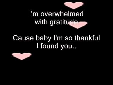 thank God i found you by Mariah Carey, with lyrics