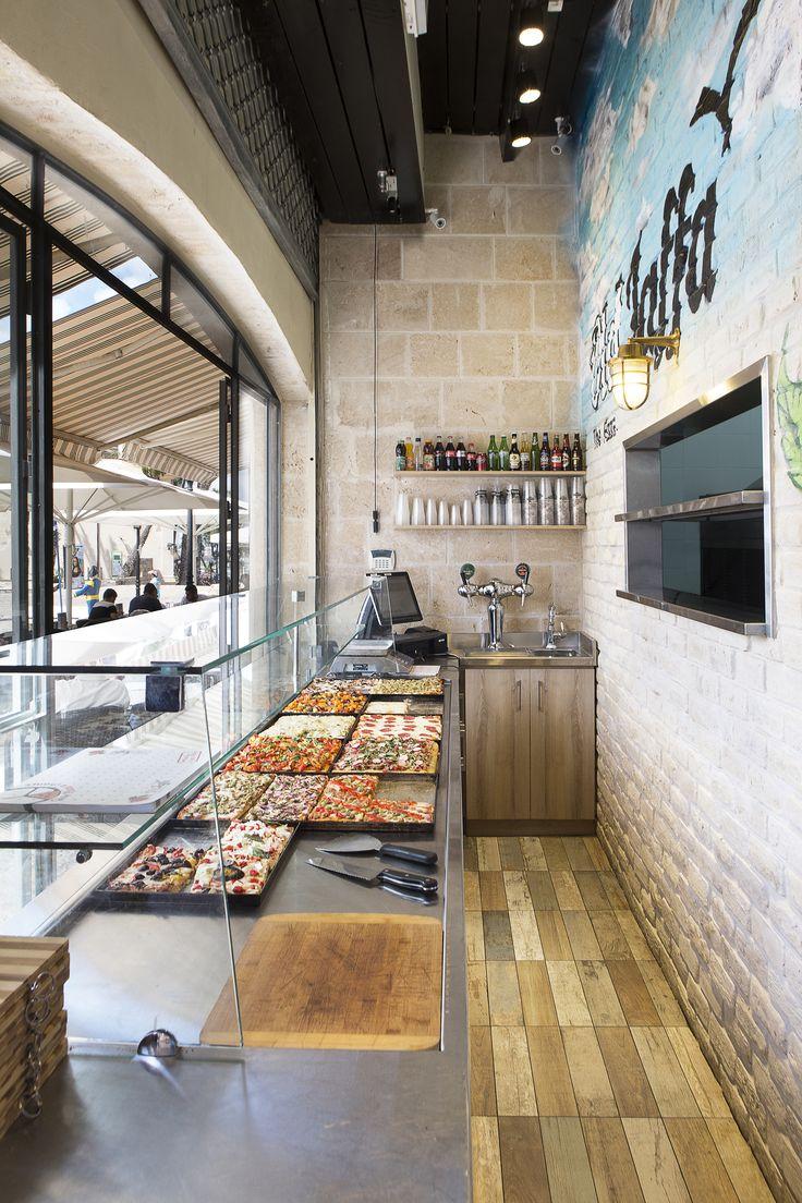 עיצוב פיצריה מעצבת פנים דנה שקד pizzeria design by dana shaked