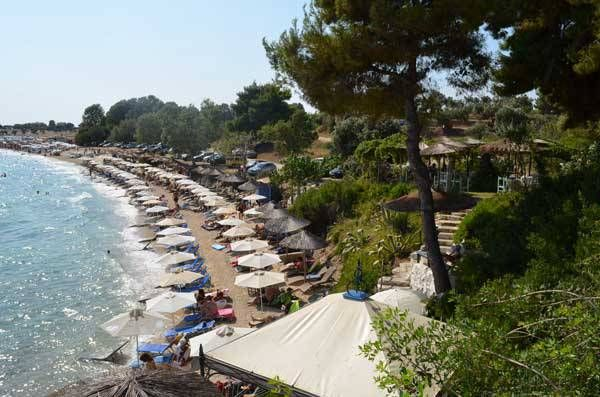 Macedonia,best beachse in Halkidiki Agios ioannis beach - Macedonia northern Greece