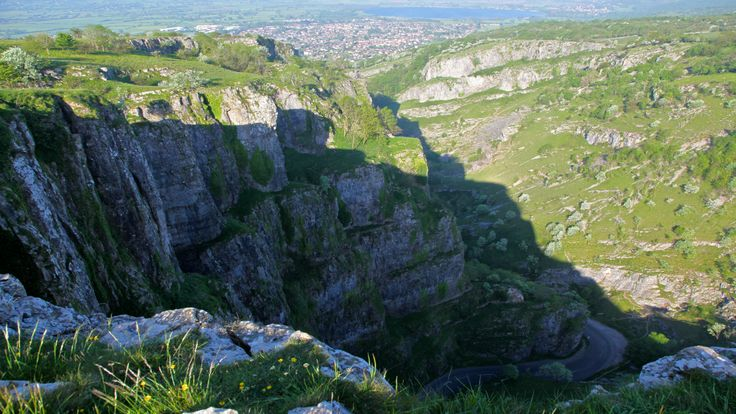 Discover the heights of Somerset's famous Cheddar Gorge in Somerset with the National Trust.