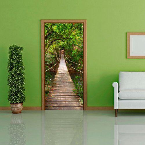 Door wallpaper with nature motif - Bridge to eden ! Non-woven ! Door Poster ! Photo wallpaper ! Murals ! Wall Mural Photo 100 x 210 cm - 101003-1 door wallpaper http://www.amazon.co.uk/dp/B00IUKXB12/ref=cm_sw_r_pi_dp_BFzJtb1X90M9Q9FP