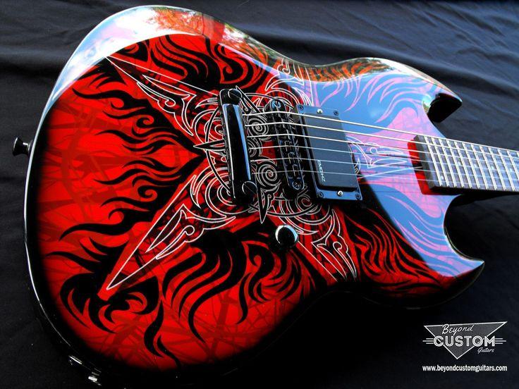 ltd guitar custom viper center