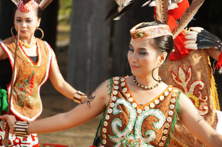 Kalimantan/Borneo Traditional Dance - KBE TVC