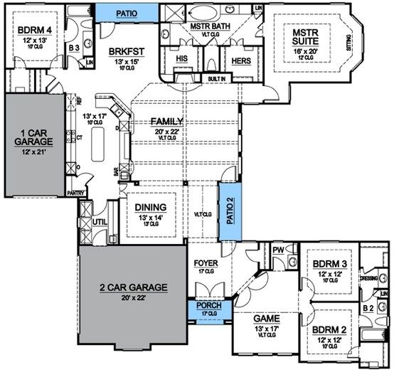 20 best House Plans images on Pinterest | Fantasy house, Carriage ...