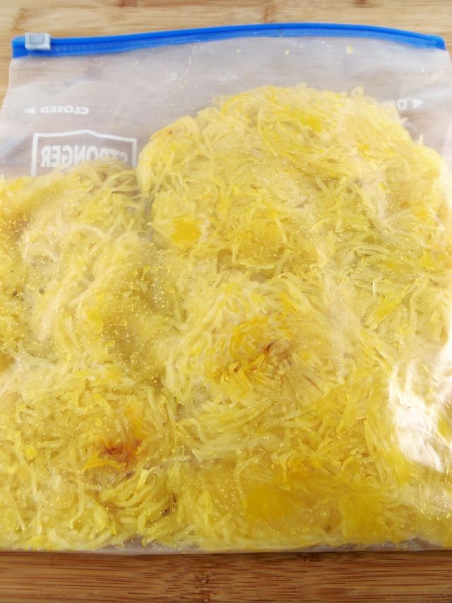 The Right Way to Freeze Spaghetti Squash: How to Freeze Spaghetti Squash