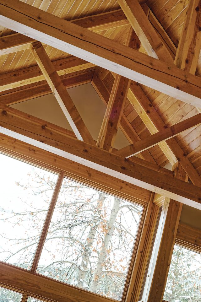 timber details by Quiniscoe Homes  quiniscoe.ca