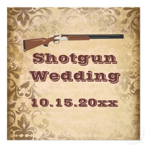25+ Best Ideas About Shotgun Wedding On Pinterest
