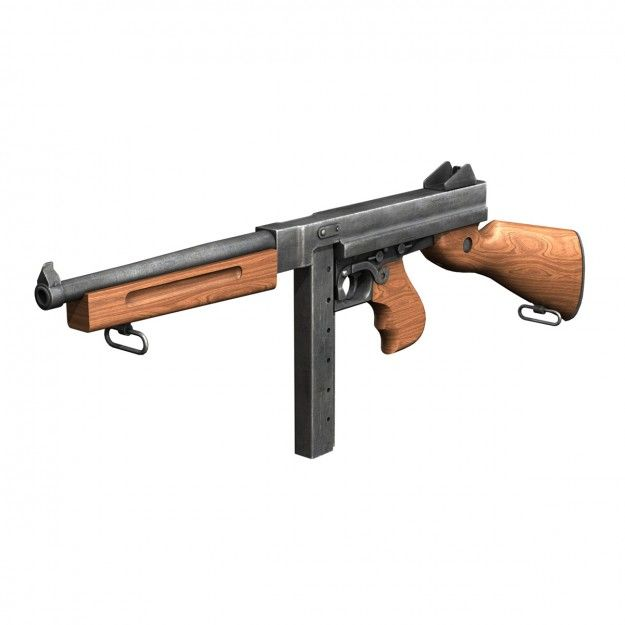 Thompson M1A1 Submachine Gun