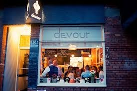 Recommended Restaurant: Devour, British Columbia.  For the chef/owner, this is a work of love.  She wakes up at 3 am every week day and cooks a unique menu for the day.  Open for lunch 5 days a week, including dinner on Thursday and Friday. Closed on the weekend. Restaurant seats 10 diners.