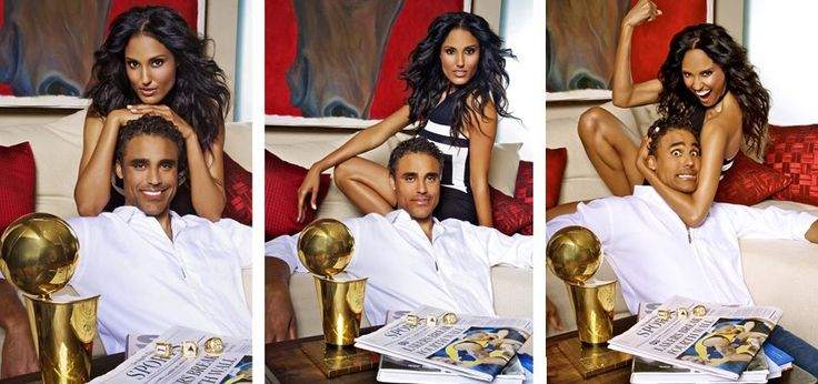 Rick Fox Amp His Sister Jaenene Black So Beautiful