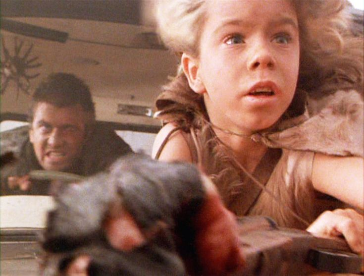 Mad Max: The Road Warrior 1981. Mad Max and The Feral Kid.