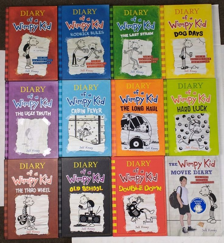 Diary Of A Wimpy Kid Book Lot 1-11 + Movie Diary - Hardcovers - Jeff Kinney