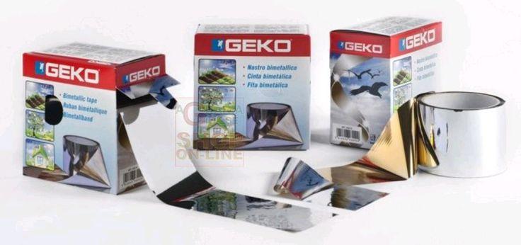 GEKO DISSUASORE NASTRO BIMETALLICO CM. 7 X 100 MT. http://www.decariashop.it/repellenti/20225-geko-dissuasore-nastro-bimetallico-cm-7-x-100-mt-8014846960024.html