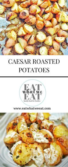 Caesar Roasted Potatoes: the simple roasted spud just got a makeover. A garlicky, parmesan infused marinade, all baked right in. With more…