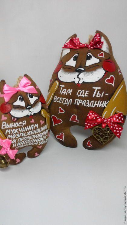 Ароматизированные куклы ручной работы. Ярмарка Мастеров - ручная работа. Купить Кофейная котя (Там где ты-всегда праздник), 17 см. Handmade.