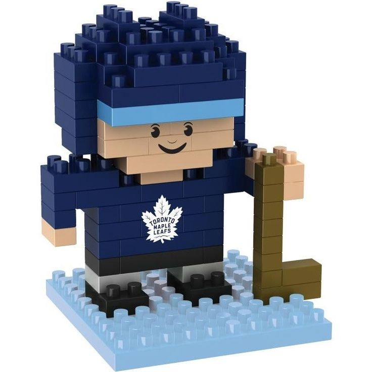 Toronto Maple Leafs NHL BRXLZ 3D Construction Puzzle Set - Player