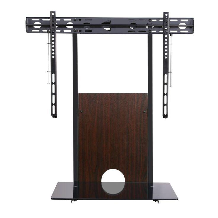 fenge walnut tv wall mount with av shelf for inch ledlcd - Tv Mount With Shelf