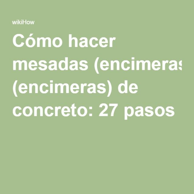 M s de 25 ideas incre bles sobre encimeras de concreto en - Encimeras de cemento ...