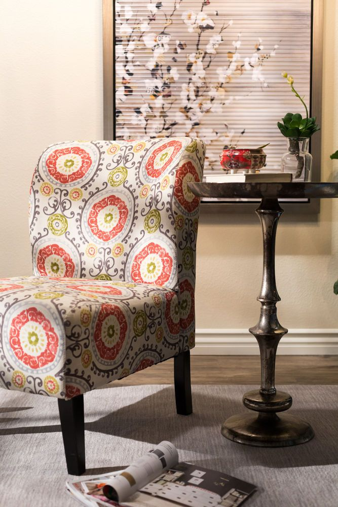 Image Result For At Home Honnally Floral Accent Chair Accent