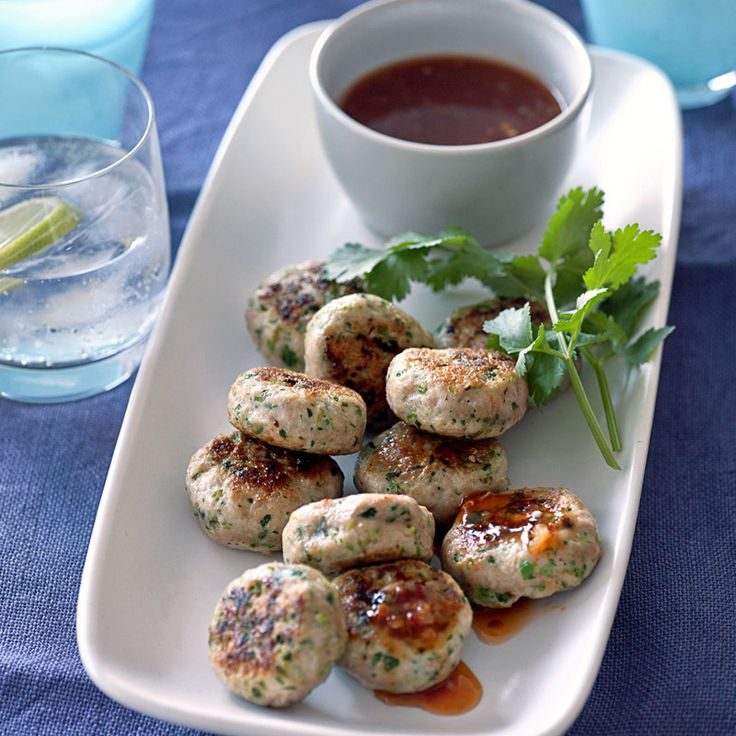 Mini Thai chicken patties | Recipes | Weight Watchers NZ