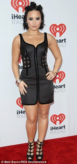 Exploring new territory: Demi Lovato was a total showstopper from the time she posed on th...