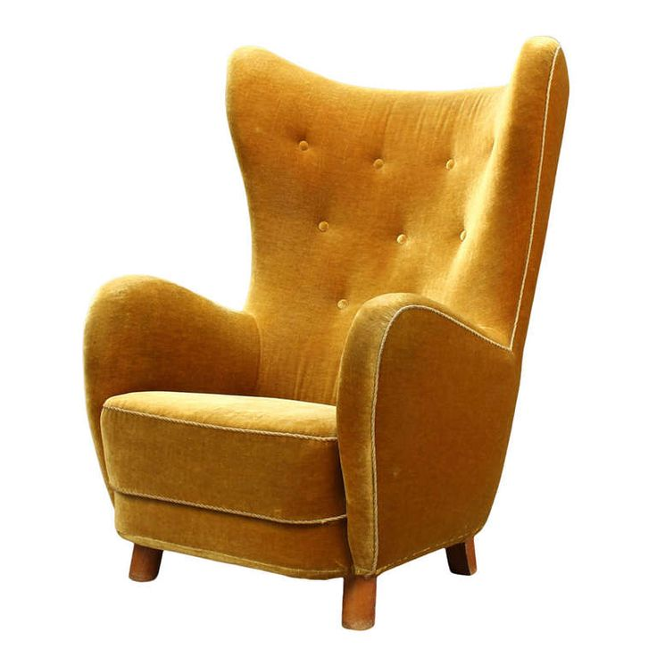 Top 25 ideas about high back chairs on pinterest tufted for Interesting armchairs